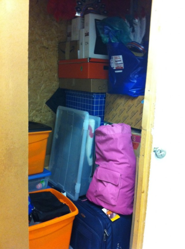 Inside of our Self Storage Unit