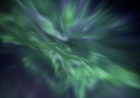 Aurora in Coldfoot, AK
