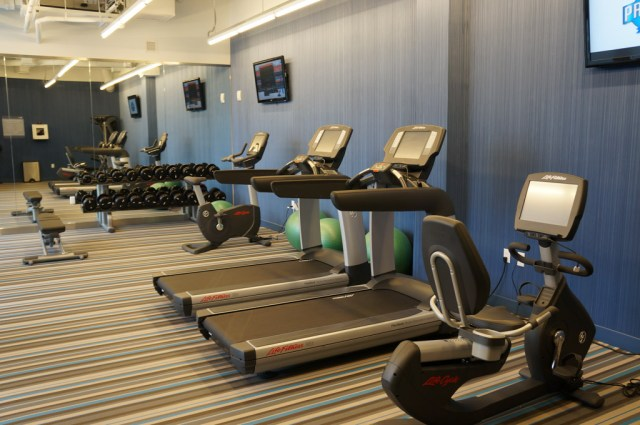 Aloft Hotel Review Fitness Center
