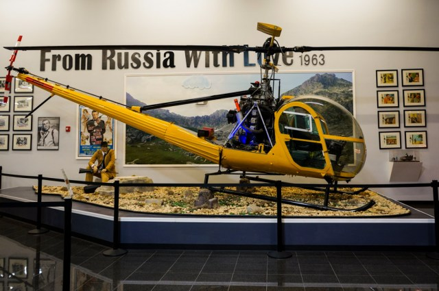 Chopper from Russia with Love