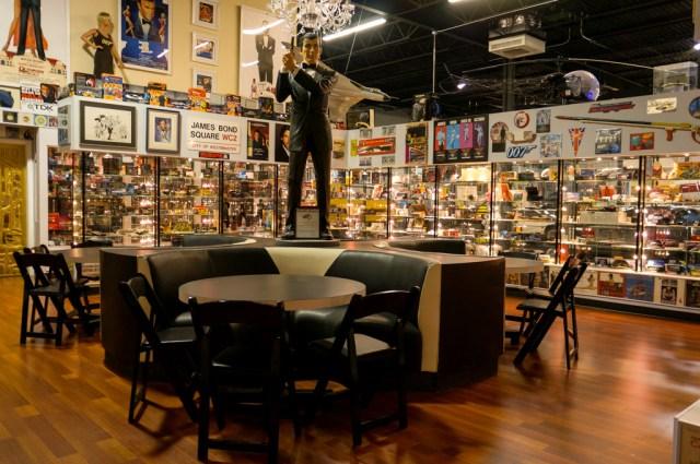 James Bond Memorabilia Collection