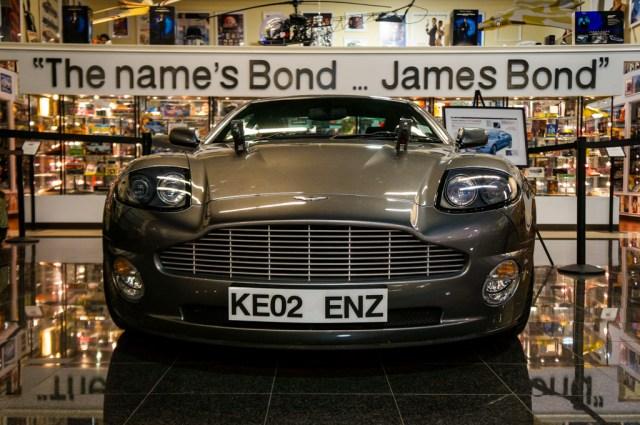 James Bond Collection at the Miami Automobile Museum Dezer Collection