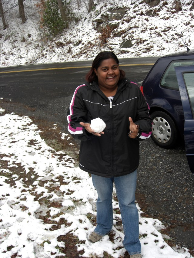 My first snowball