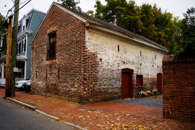 One of the oldest standing structures in Annapolis