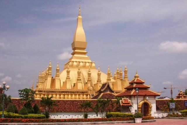 Temple Vientiane Laos