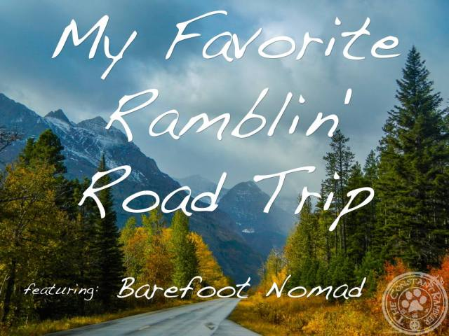 Road Trip Barefoot Nomad