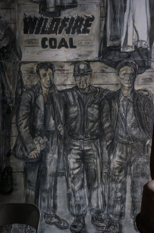 Atlas Mines Mural in Bathhouse