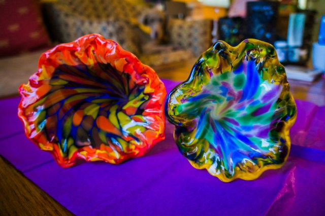 Glass Flowers from Corning Museum of Glass