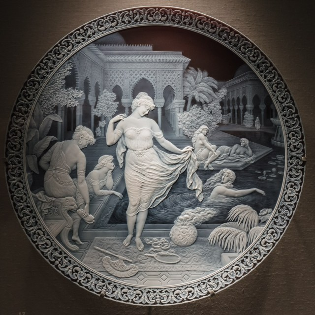 19th Century Cameo Plate at CMOG