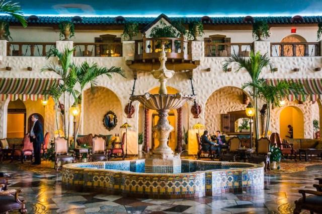 Fountain in Hotel Hershey