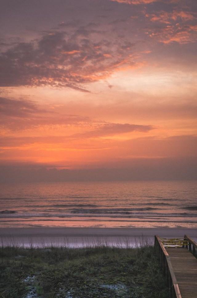 Sunrise on Jax Beach