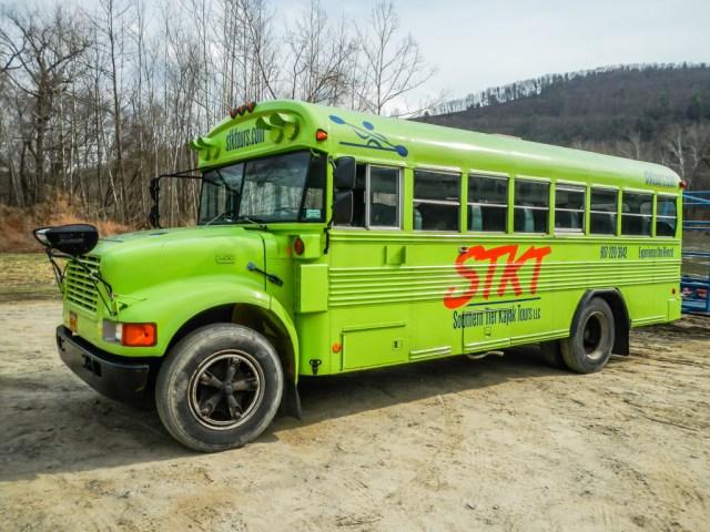 Southern Tier Kayak Tours Bus
