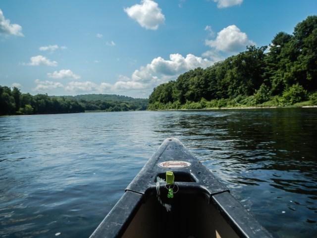 Kittatinny Canoes on the Delaware River