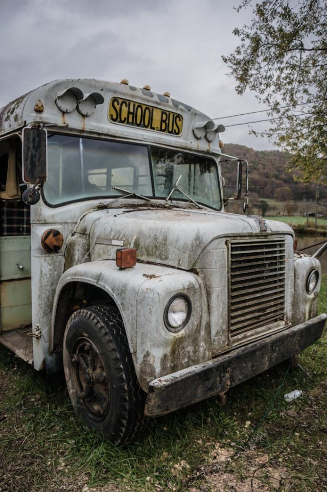 Abandoned School Bus Exterior