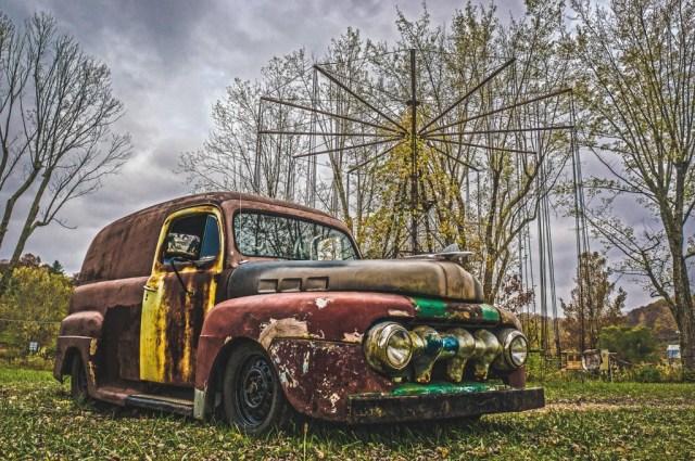 Haunted Abandoned Car