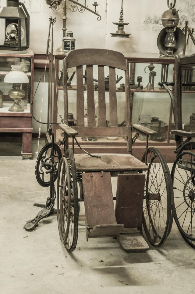 Rural Life Museum WheelChair