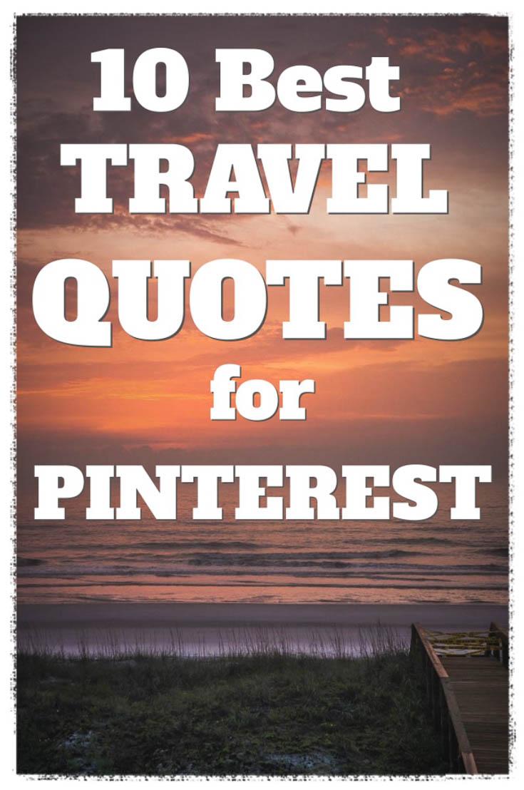 Travel Quotes Pinterest 5