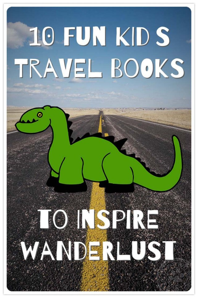 10 Kid Travel Books Pinner