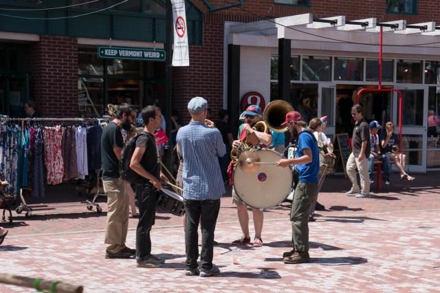 Band on Church Street
