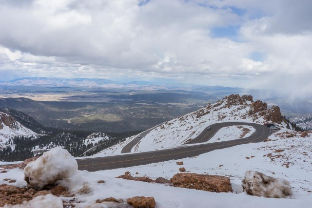 Switchbacks on Pikes Peak