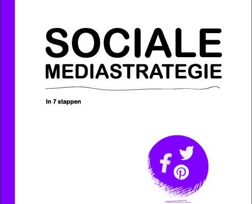 Cover Een socialemediastraegie in 7 stappen - Marc van Daele - theCONVERSATION