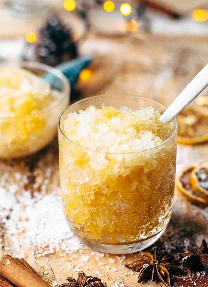 Orange Bourbon Slush recipe