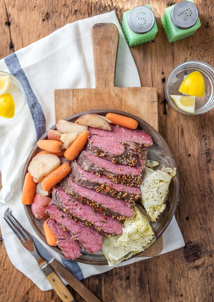 Traditional Slow Cooker Corned Beef and Cabbage - The ...