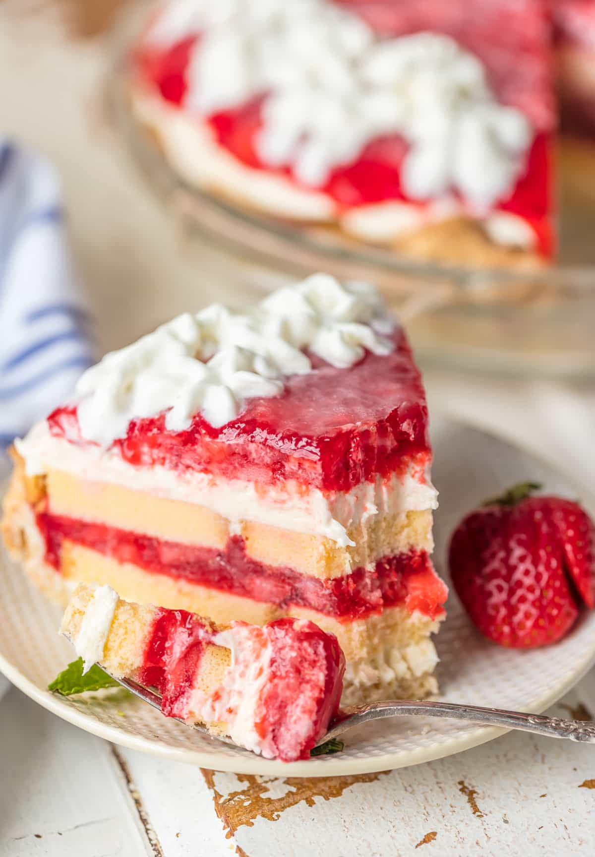 Perfect Strawberry Shortcake