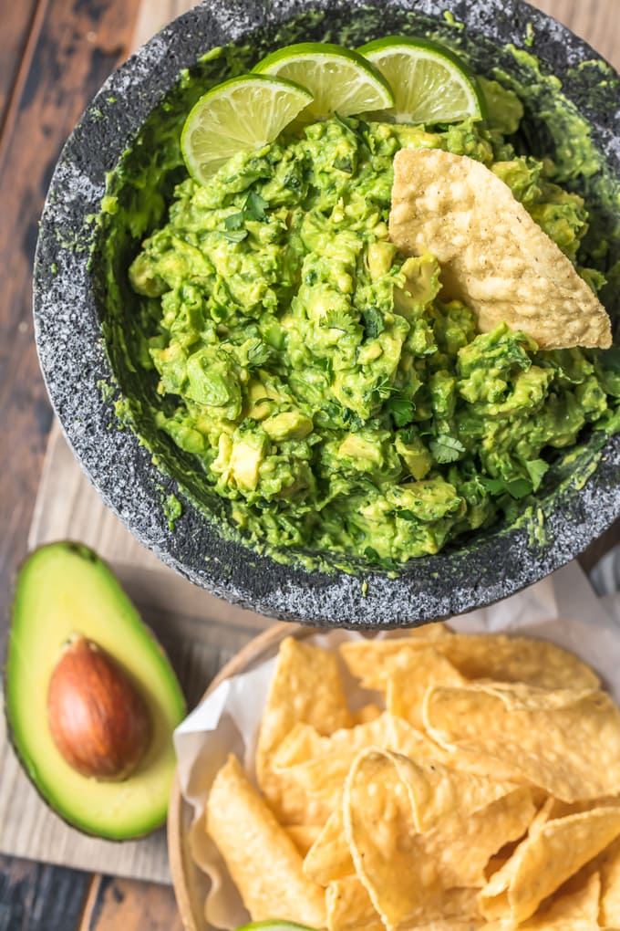 Best guacamole recipe with tortilla chips
