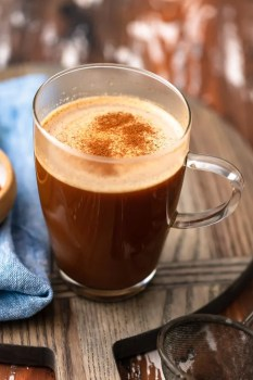 Keto Coffee is the perfect way to start your day if you're following a low-carb or keto diet. This Vanilla Keto Coffee Recipe makes it SUPER EASY to make ketogenic coffee in a pinch!