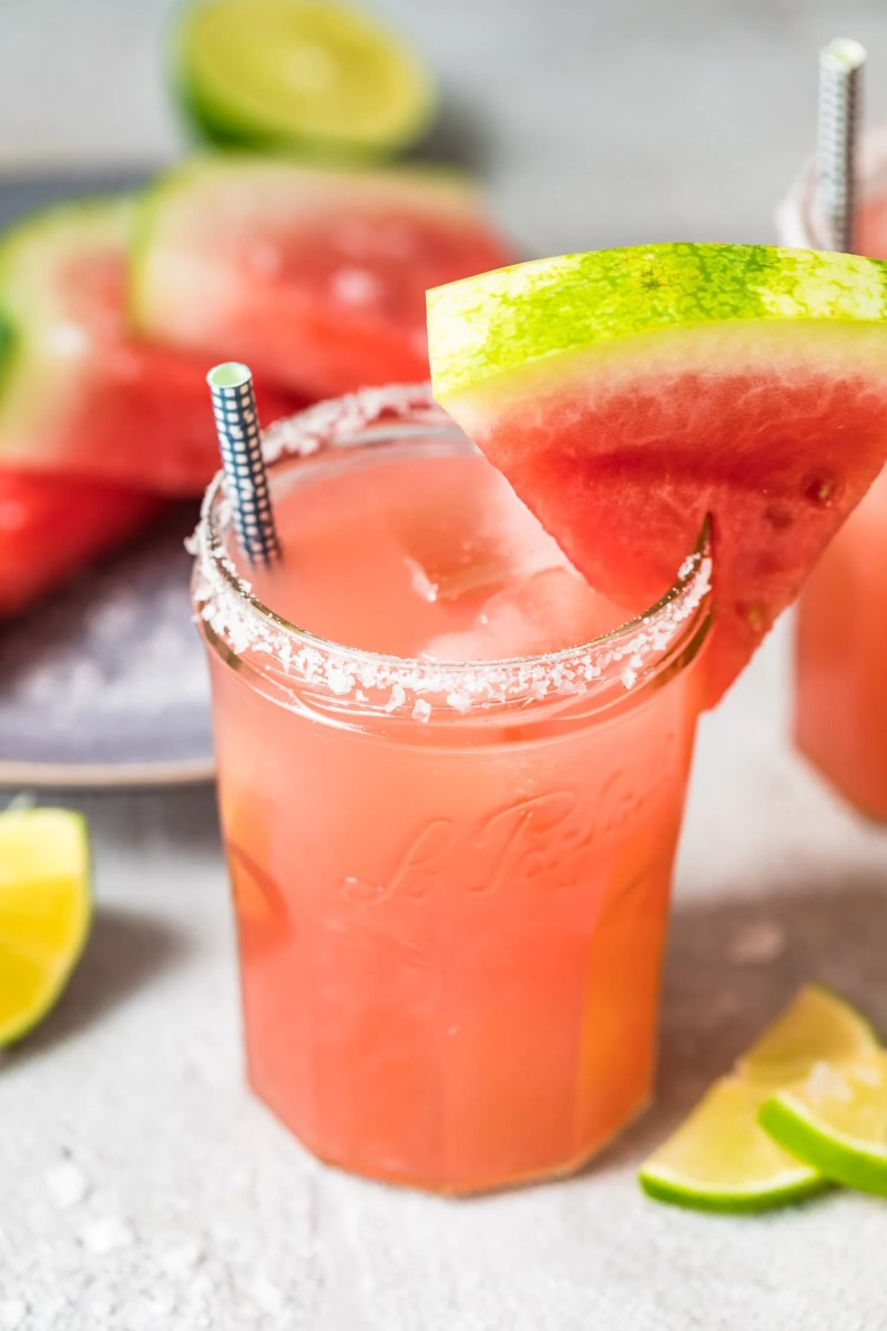 cocktail made with watermelon