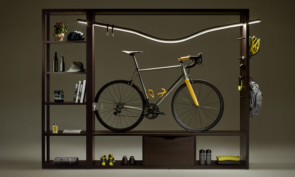 Vadolibero Bike Shelf - indoor bike rack
