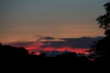 sunset at baan sairung