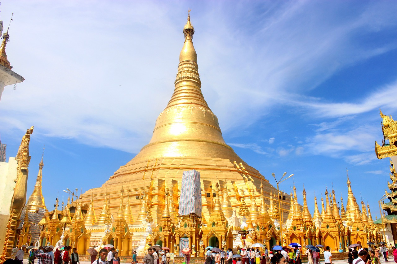 the shwedagon
