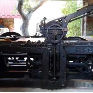 Itrans Intermodal transports an antique lithographic press from France to Mexico