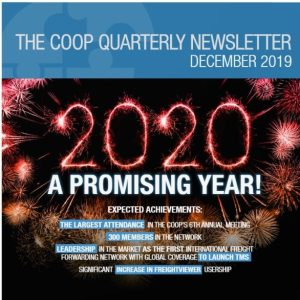 The December edition of The Coop's 2019 newsletter has been published and can be accessed on the website