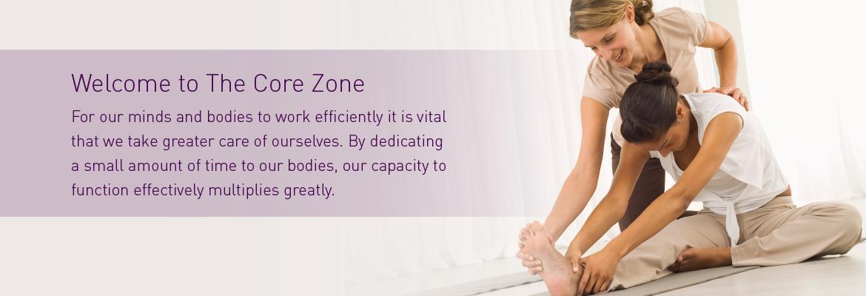 Welcome to the Core Zone Holistic Pilates and yoga studio Banbury