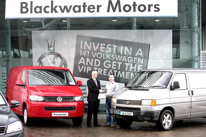 Blackwater Motors help out loyal VW commercial driver