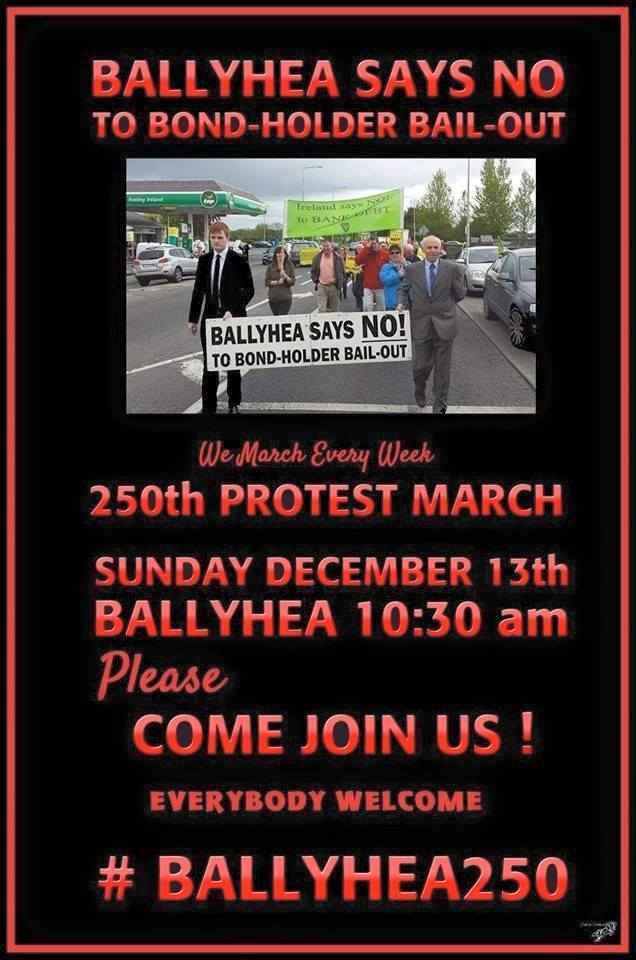 POLITICS: 'Ballyhea Says No' campaign group in Co Cork marks its 250th week of protest
