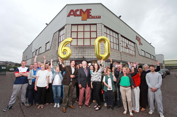 Cork based 'Acme Blinds' celebrate 60 years in business