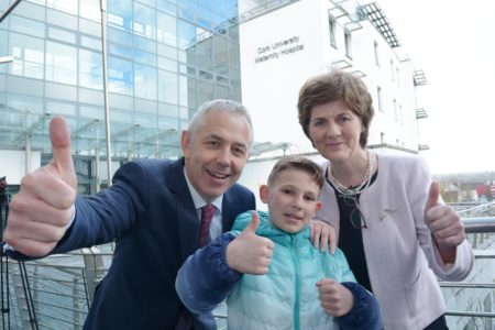 Cork University Maternity Hospital – CUMH – celebrates its own 10th birthday!