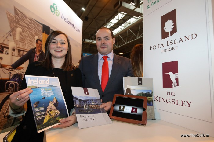 Kingsley Hotel Cork exhibits at British Tourism and Travel Show this week at the NEC in Birmingham