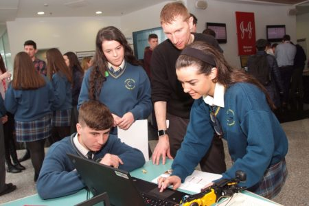Cork students visit open day at Johnson & Johnson campus in Loughbeg, Ringaskiddy