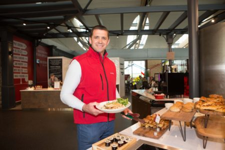 REDESIGN: New food court opens in Cork Airport – Rugby star Alan Quinlan attends