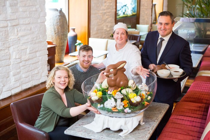 """EASTER ENTERTAINMENT: Imperial Hotel goes the """"eggs-tra"""" mile for Pieta House this Easter"""
