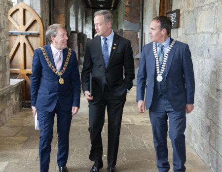 US Politician Martin O'Malley visits Cork