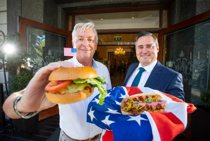 ENTERTAINMENT: Imperial Hotel, Cork holds 4th July event for Americans