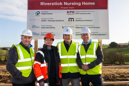 NEAR KINSALE: Construction beins on 93-bed 'Riverstick Nursing Home'