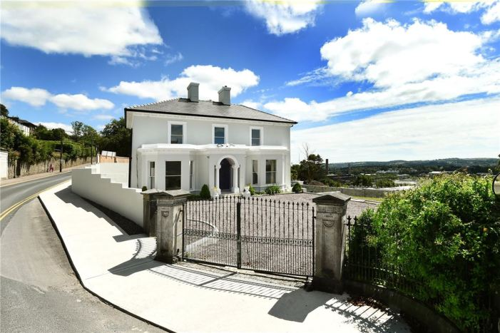 WITHIN WALKING DISTANCE OF CITY: Arbutus Lodge is for sale again, this time for €1.35million