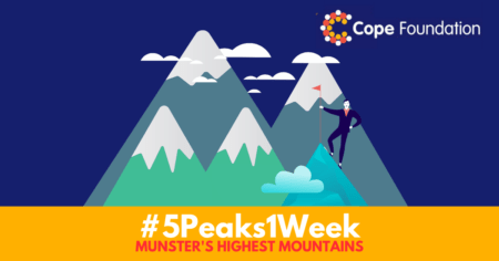 PHOTOS: Cope Foundation launch '5 Peaks 1 Week' fundraising challenge